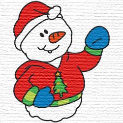 snowman embroidery designs