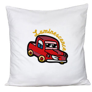 Living Cars custom embroidery designs